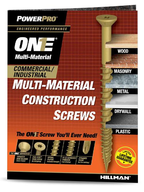 F117_EN_One Screw Commercial and Industrial Brochure